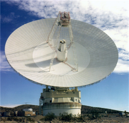 DSN 70 Meter Antenna located in Barstow California.