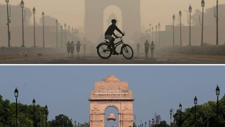 India Gate War Memorial courtesy of CNBC