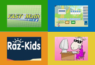 ES Website Links -FASTT Math, Raz-Kids and More