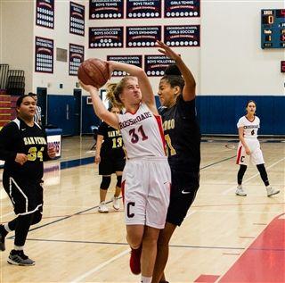 Girls JV Basketball lost to Santa Monica 17-29  cf3ed3702