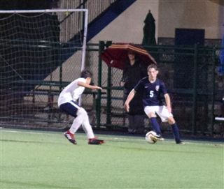 853629c7569 Boys JV Soccer lost to Geffen 3-2