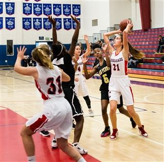 Girls JV Basketball lost to St. Marys Academy 14-48  00ed33d47