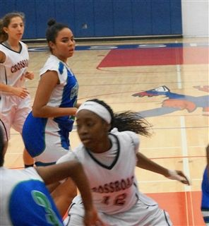 Girls basketball lost to Sierra Canyon 61-23.  d76a2246c