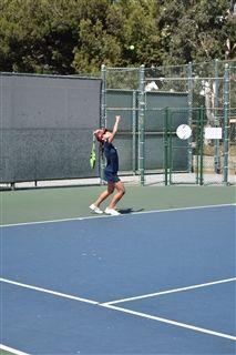 6ea03b489804 Varsity Tennis Plays Tough Preseason Match