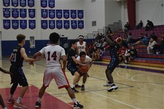 708d8853a Boys JV Basketball beat Sierra Canyon 62-56