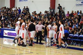Girls Varsity Basketball Wins a Close One on Senior Night ... 1a0883cbed72