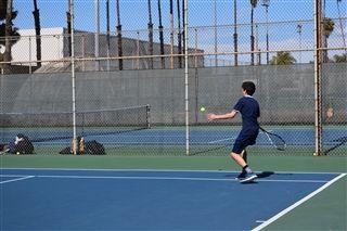 new arrival 57bc1 f7f1e Boys JV Tennis Wins First League Game