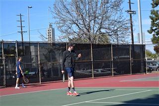 91992c2eba07 Boys Varsity Tennis beat Windward 10-8