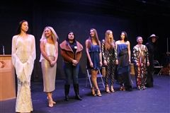 Designers from Freedom and Fashion hold a fashion show on March 6 at Crossroads.