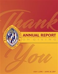 2016-2017 Annual Report on Giving