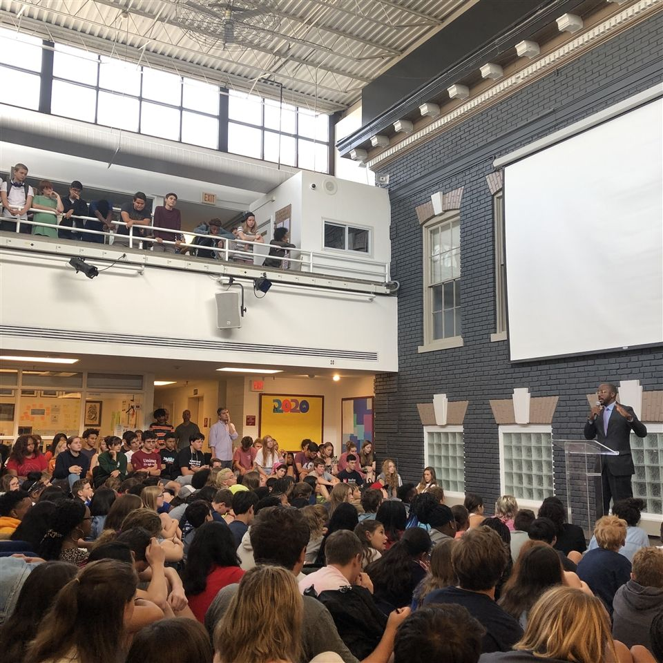 Assembly in the Atrium | Fall 2019