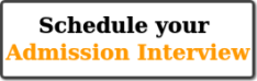 Schedule your Admission Interview