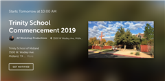 Livestream of 2019 Commencement