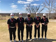 Trinity Boys Golf place at the ECISD Invitational golf tournament.