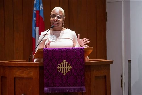 Living to Capacity, Kathryn Threatt '14 Homily