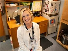 Lower School Nurse Elizabeth Blanton '97, SN, RN, NCSN