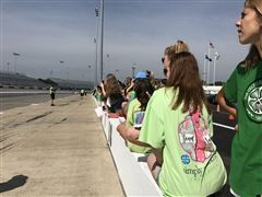 Eighth graders attended a STEM event at Richmond International Raceway.