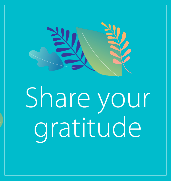Remote Learning Share Your Gratitude