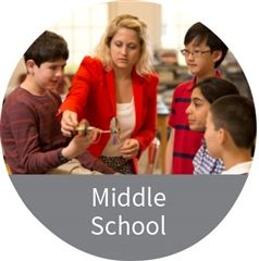 Middle School homepage link
