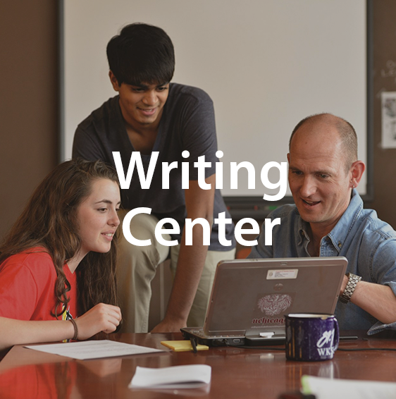 US: Writing Center link