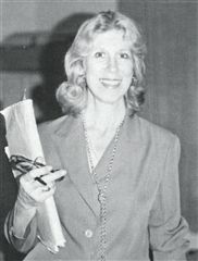 Bev Brown at Annie Wright in 1979