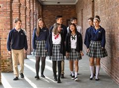 Boys & girls at Annie Wright look foward to late start in the 19-20 academic year.