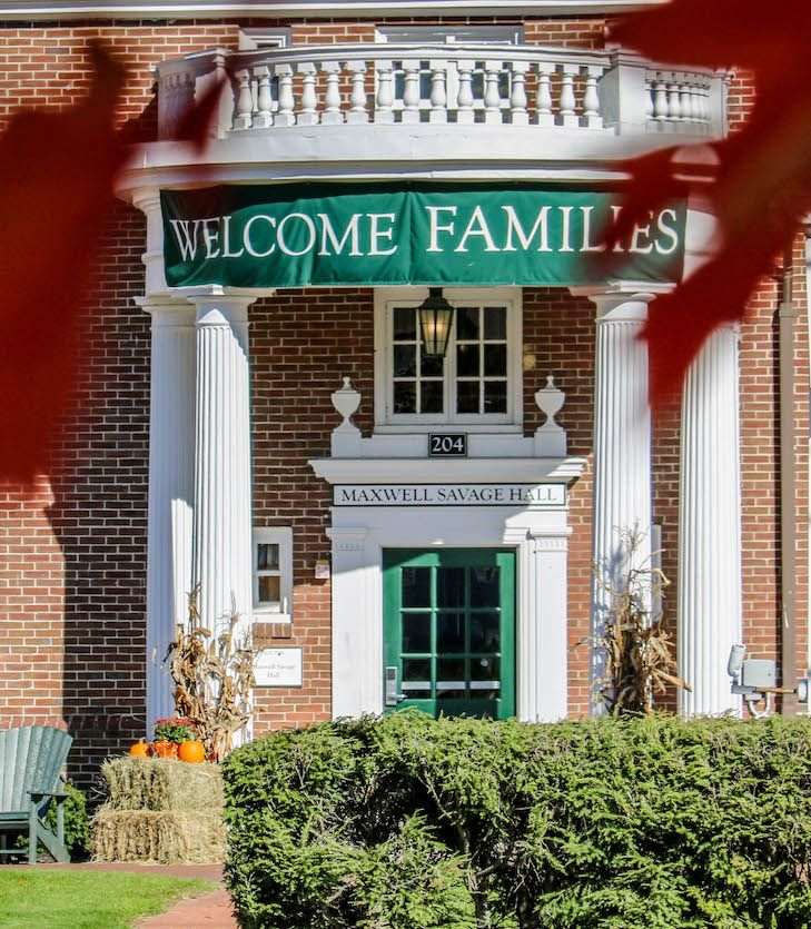 Fall Family Weekend Information