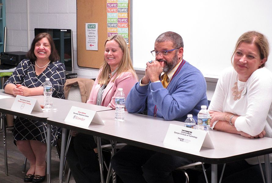 STEM Panel Shares Insights About the College Acceptance