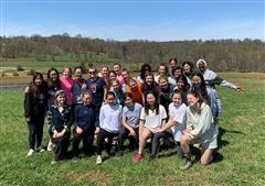 The Class of 2021 had a fulfilling day volunteering at JK Community Farm in Purcellville on Saturday.