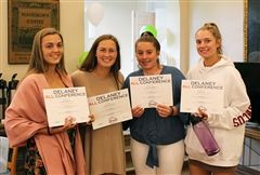 Lacrosse Seniors Loren S., Haley B., and Allie M. made first team All-DAC. Jenna T. '19 made second team All-DAC.