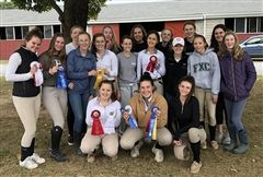 The IEA team qualified for Regional Finals after earning the Championship ribbon at Sunday's show on campus.