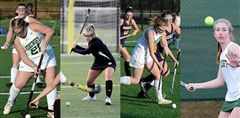 Varsity Field Hockey players Allie M. '20, Janie W. '20, and Betsy A. '21 and Varsity Tennis player Gigi G. '22 have each been selected for Virginia Independent Schools Athletic Association (VISAA) Division II All-State teams.