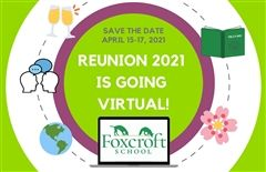 Visit www.foxcroft.org/reunion for more information. Hope to see you there!