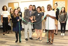 On Wednesday, October 18, The Innovation Lab at Foxcroft School was officially opened at a ribbon-cutting ceremony.