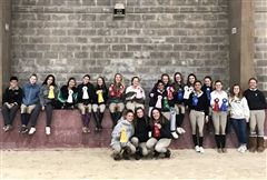 On Sunday, the IEA Team hosted the one and only home show this year. The team placed third overall, which qualifies Foxcroft for IEA Regionals!