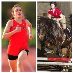 Nora Weathers '12 (left/photo courtesy of Haverford College) and Shana Coffey '13 (right/photo courtesy of Cornell University)