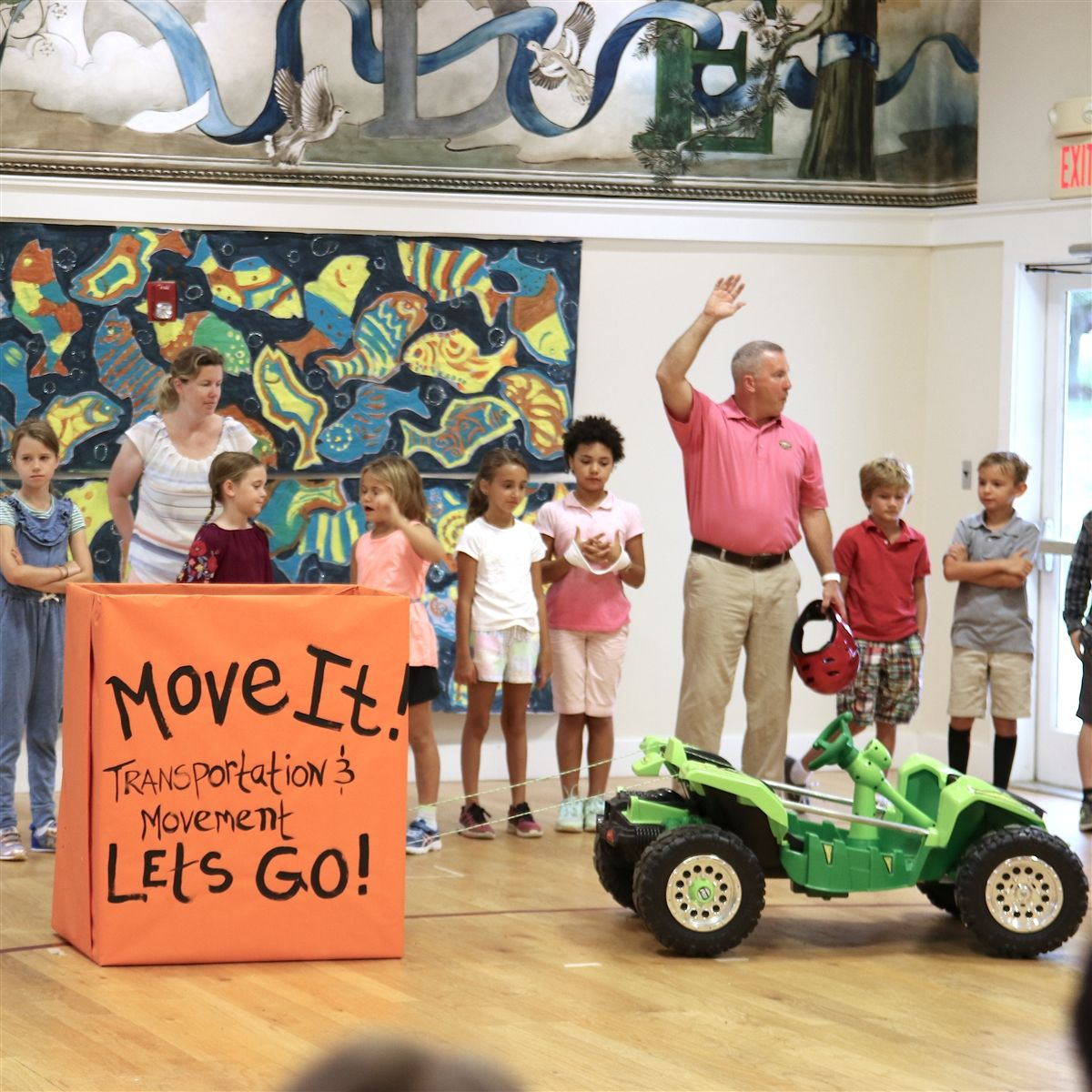 Let's Go! Lower School Announces Study Theme