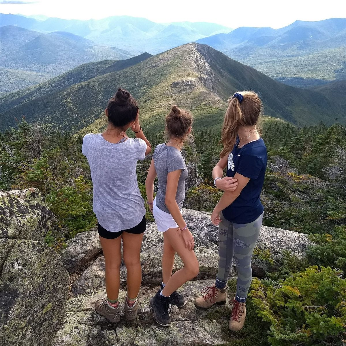 Ninth Grade Camps Out in White Mountains
