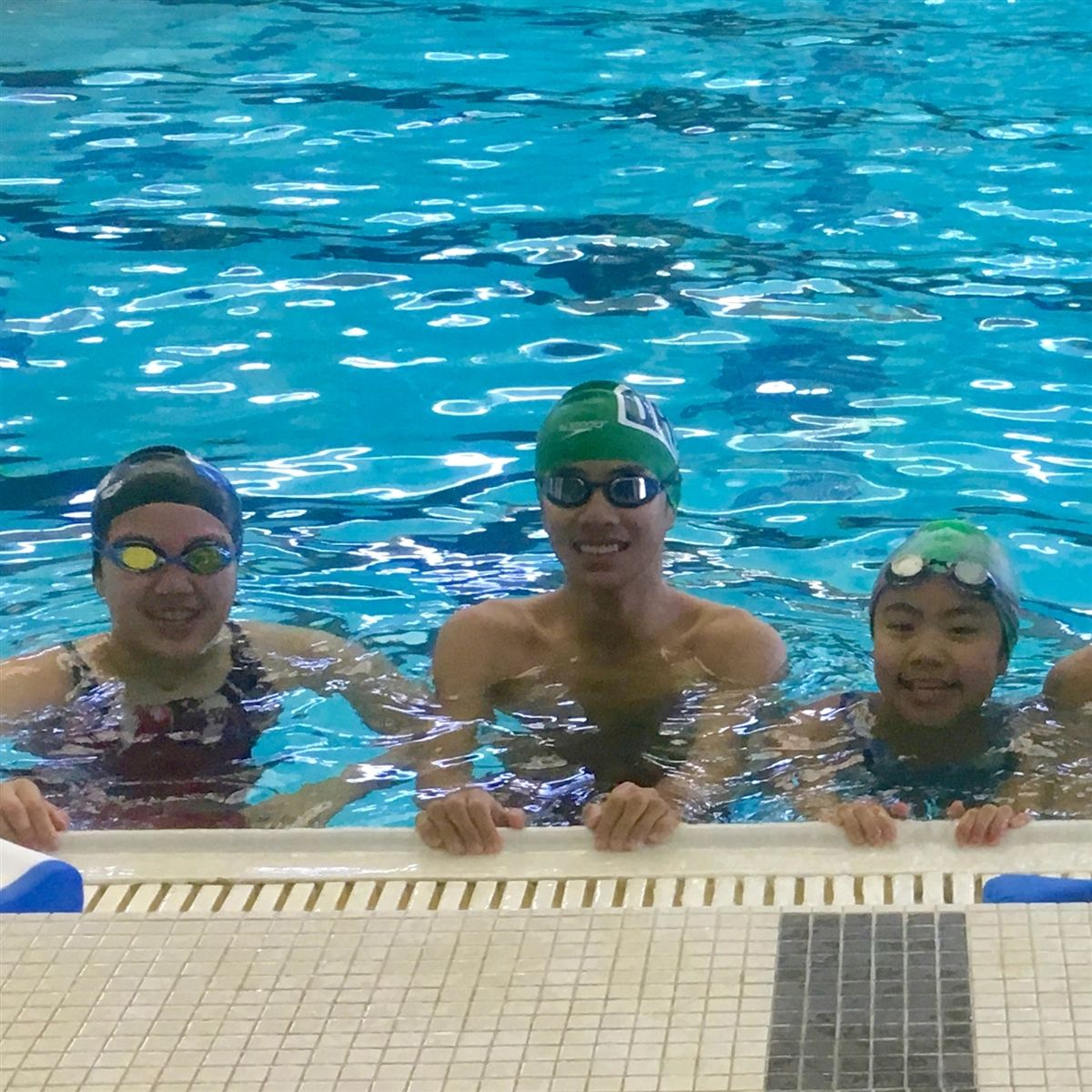 IMS SWIMMERS SUPPORT SPECIAL OLYMPICS