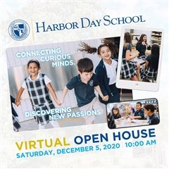 Virtual Open House - December 5