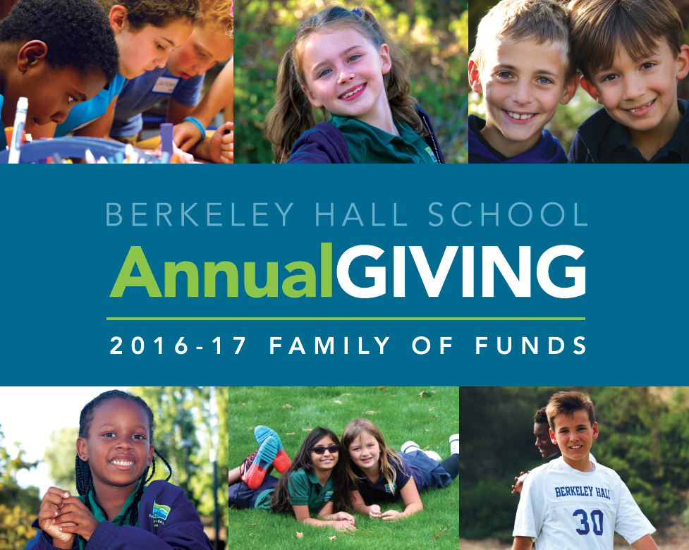 Annual Giving Brochure