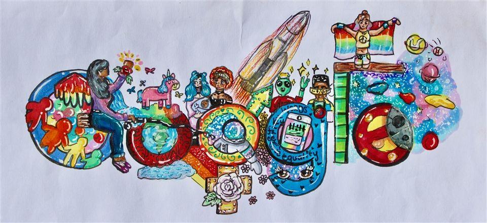 Doodle For Google Student Art Contest Berkeley Hall School