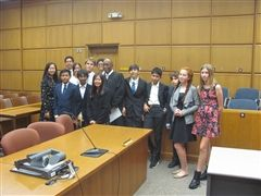 BHS Mock Trial Defense Team Wins