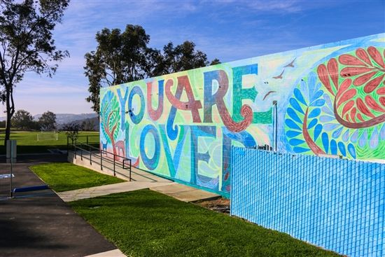 You Are Loved mural