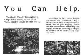 Chagrin River Brook Trout Restoration