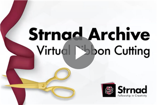 Strnad Archive Virtual Ribbon Cutting