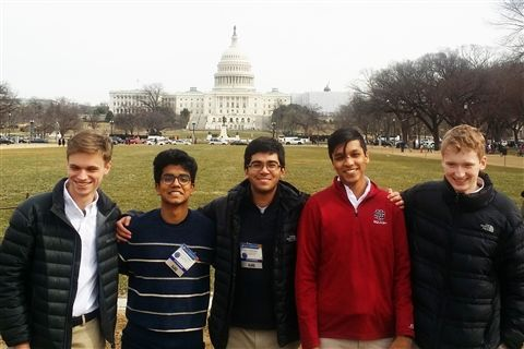 American Jr  Academy of Sciences Recognizes 5 US Students