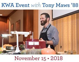 Thanksgiving Tasting with Tony Maws '88