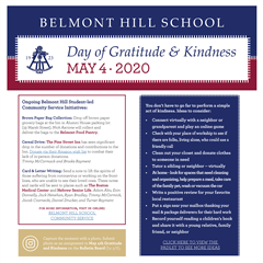 May 4 - Day of Gratitude and Kindness