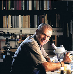 Dr. Craig W. Schneider, professor of biology at Trinity College